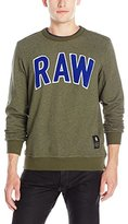 G Star Men's Warth Crew Neck Pullover Sweatshirt