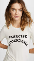 Wildfox Couture Exercise & Cocktails Seer Tee