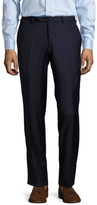 Lubiam Marco Solid Flat Front Trousers
