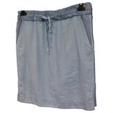 Denham Jeans Blue Cotton Skirt for Women