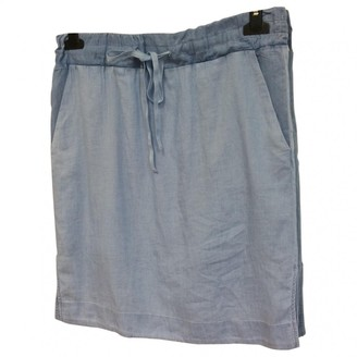 Denham Jeans Blue Cotton Skirts