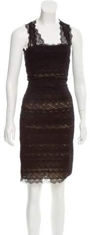 Alexander McQueen Sleeveless Lace Dress