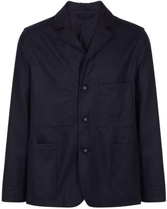 Officine Generale Navy Wool Sports Jacket