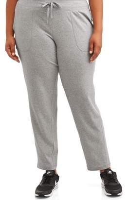 Athletic Works Women's Plus Size Active Core Knit Pant