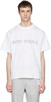 Satisfy White run Away Moth Eaten T-shirt