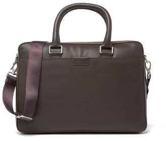 Cole Haan Attache Leather Messenger Bag