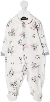 MonnaLisa Bunny All-Over Pyjamas