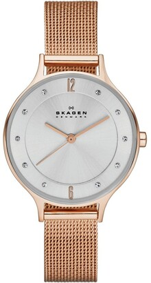 Skagen Rose Gold Anita Rose