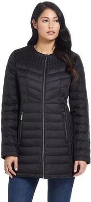 Ellen Tracy Women's Quilted Puffer Jacket