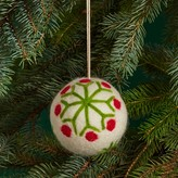 Bloomingdale's Felt Snowflake Ball Ornament - 100% Exclusive