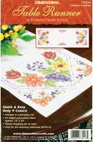Dimensions Needlecrafts Stamped Cross Stitch, Flowers and Berries Table Runner