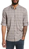 John Varvatos Slim Fit Plaid Sport Shirt