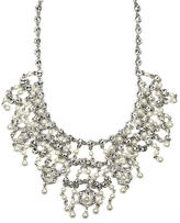 Givenchy Necklace, Glass Pearl and Crystal Bridal Necklace