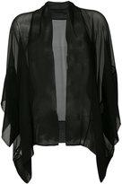 Alberta Ferretti sheer relaxed jacket