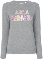 Chinti and Parker cashmere abracadraba sweater