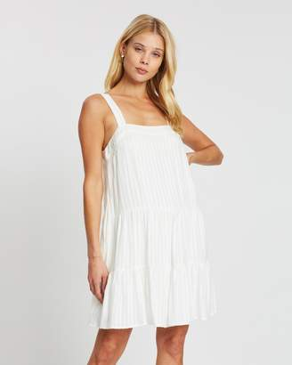 Chloé Tiered Mini Dress