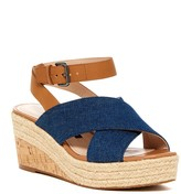 French Connection Liora Crisscross Wedge Sandal
