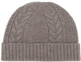 N.Peal cable knit beanie - women - Cashmere - One Size