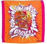 Hermes Graffiti Pocket Square