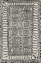 Nani Marquina Nanimarquina Black On White Estambul Rug