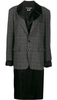 Junya Watanabe layered blazer coat