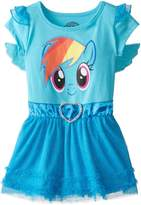 My Little Pony Little Girls' Rainbow Dash Tulle Costume Dress