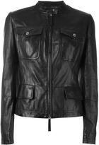 Roberto Cavalli fitted jacket