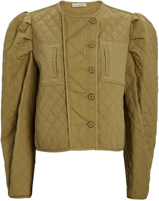 Ulla Johnson Arlo Quilted Puff Sleeve Jacket