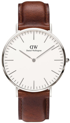 Daniel Wellington Classic St Mawes 40mm Silver Watch