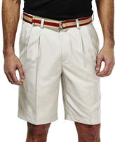 Haggar Cool 18 No-Iron Pleated Shorts