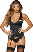 "Dreamgirl Women's ""s.w.a.t""-themed Vest With Panty and Handcuffs"