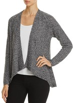 Eileen Fisher Angled-Front Linen Cardigan