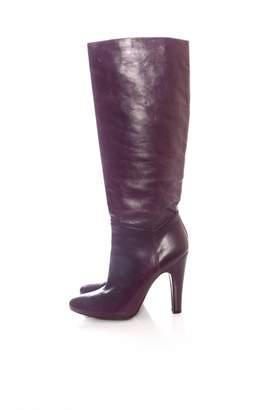 Pedro Garcia \N Purple Leather Boots