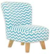 Babyletto Pop Mini Chair in Chevron Blue