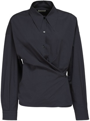 Lemaire Twisted Cotton Shirt