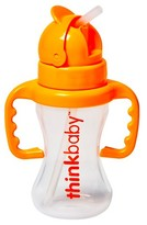 Thinkbaby Toddler Straw Cup Orange Sorbet