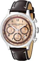 Baume & Mercier Baume Mercier Men's Capeland Automatic Chronograph Watch A10004