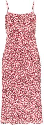 Reformation Arie floral-print midi dress