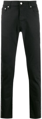 Alexander McQueen Side Tape Straight Jeans