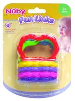 Nuby DDI 408795 Fun Links Teether - 3 Mo. plus Case Of 72