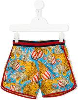 Gucci Kids circus print shorts