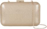 Accessorize Finlay Glitter Hardcase Clutch Bag