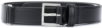Maison Margiela Embossed Logo Buckle Belt