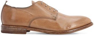 Moma Leather Derby Lace-Up Shoes