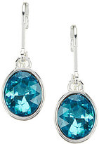 Anne Klein Faceted Drop Statement Earrings