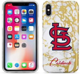 Unbranded St. Louis Cardinals Marble iPhone X Case