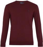 Polo Ralph Lauren Crew-neck pima-cotton sweater