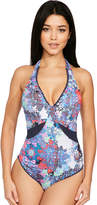 Antalia Kaya Underwired Halter Tummy Control Swimsuit