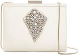 Badgley Mischka Crystal Embellished Clutch