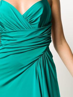 Alexandre Vauthier Draped Asymmetric Dress